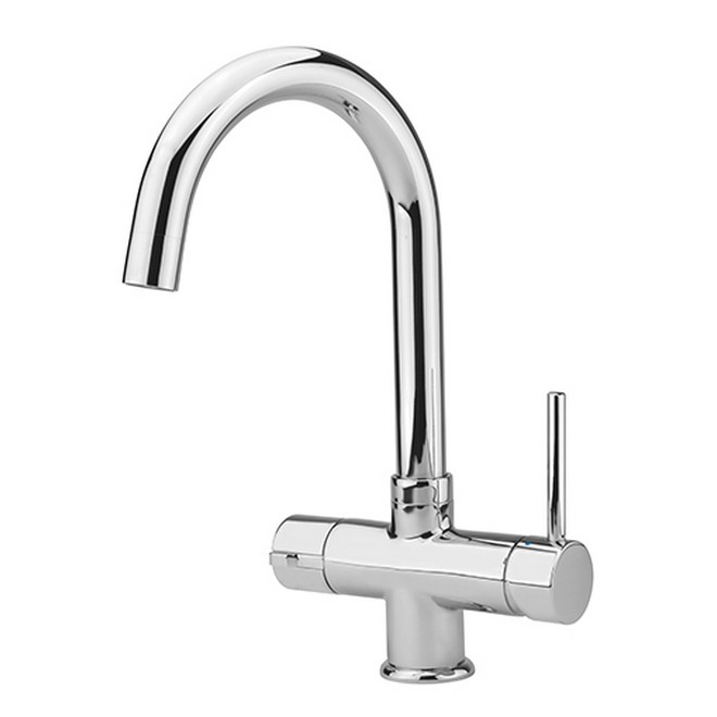 Ergo Lever Hot Filtered Cold Amp Boiling Water Tap Chrome